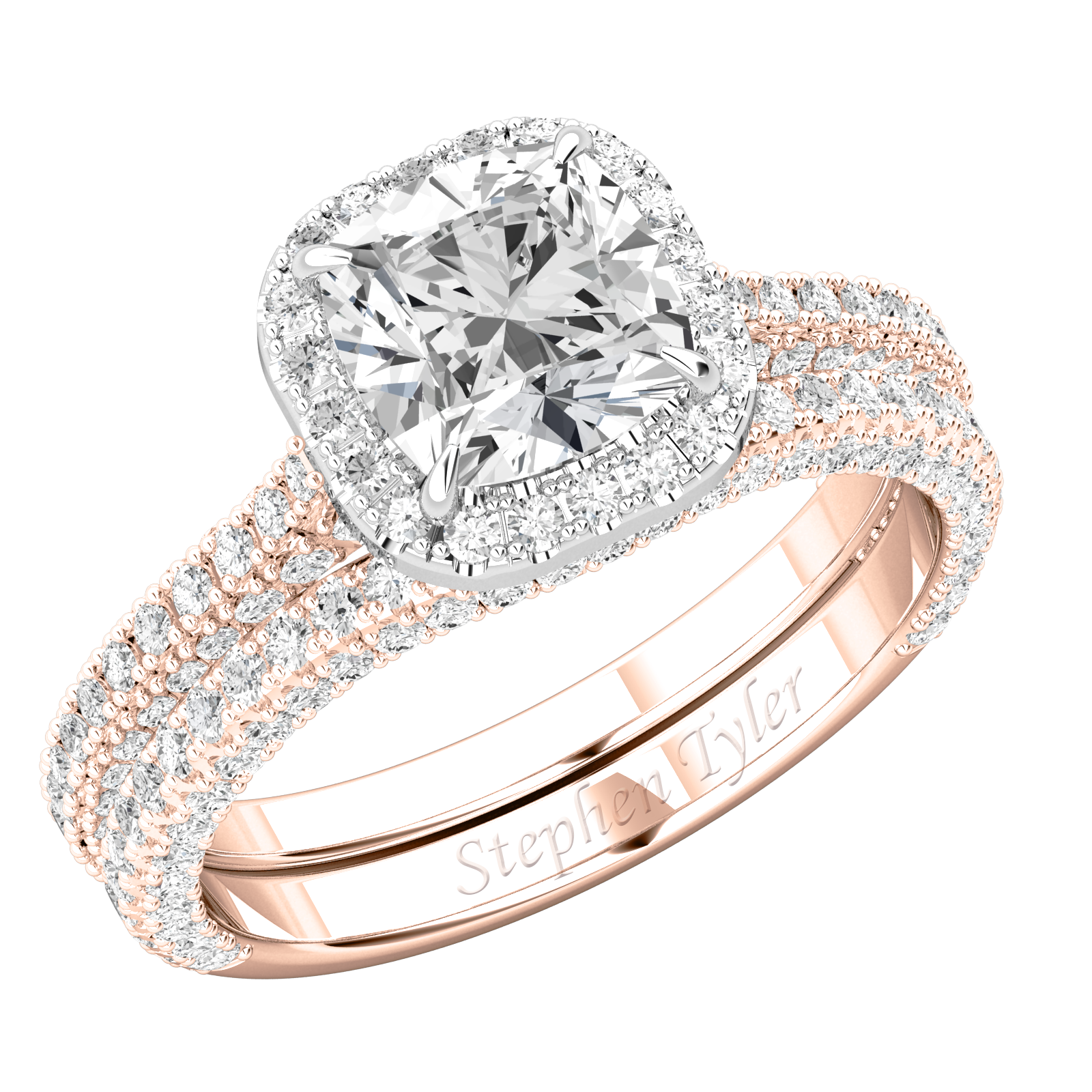 Purely Royale and Matching Wedding Ring  For Evermore