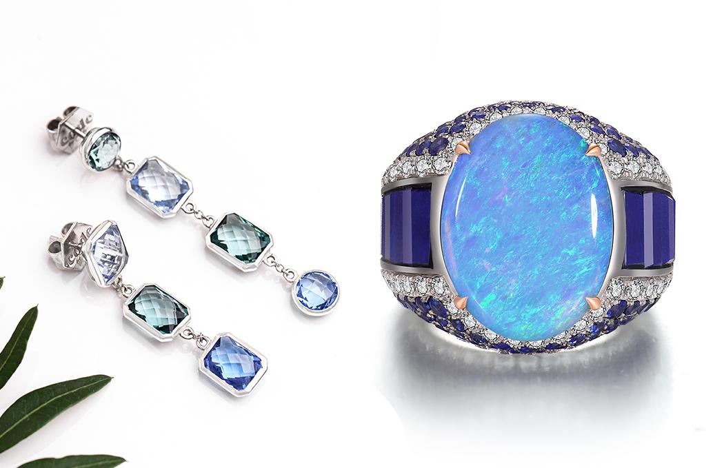 Blinging Blues The Jewellers Trendspot NAJ