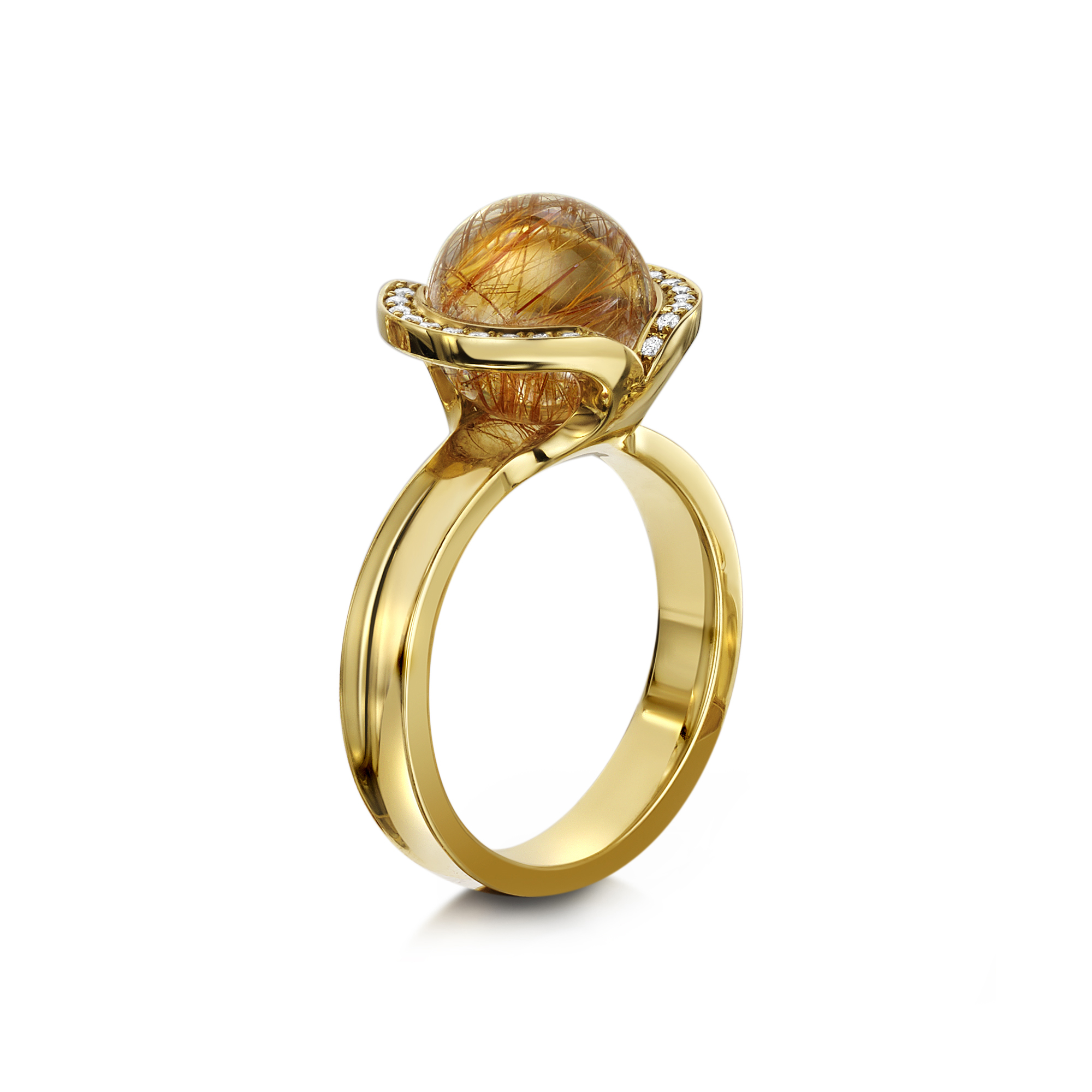 Andrew Geoghegan rutilated quartz Celestial Ring 18y Rutil 2000px